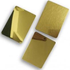 ورق میرور 0.6 طلایی 304