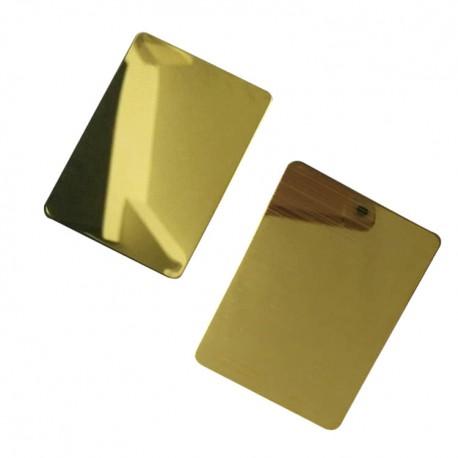ورق استیل میرور طلایی 0.8 نگیر