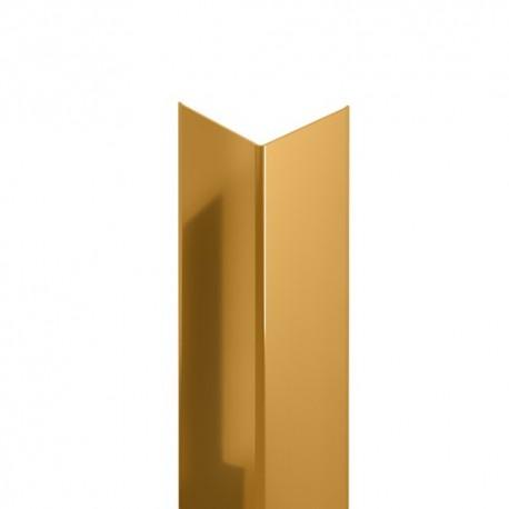 نبشی استیل 20*20 میلی متر طلایی