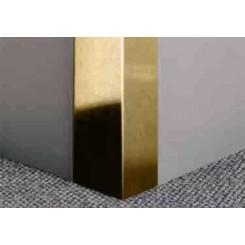 نبشی استیل طلایی 10*10 میلی متر